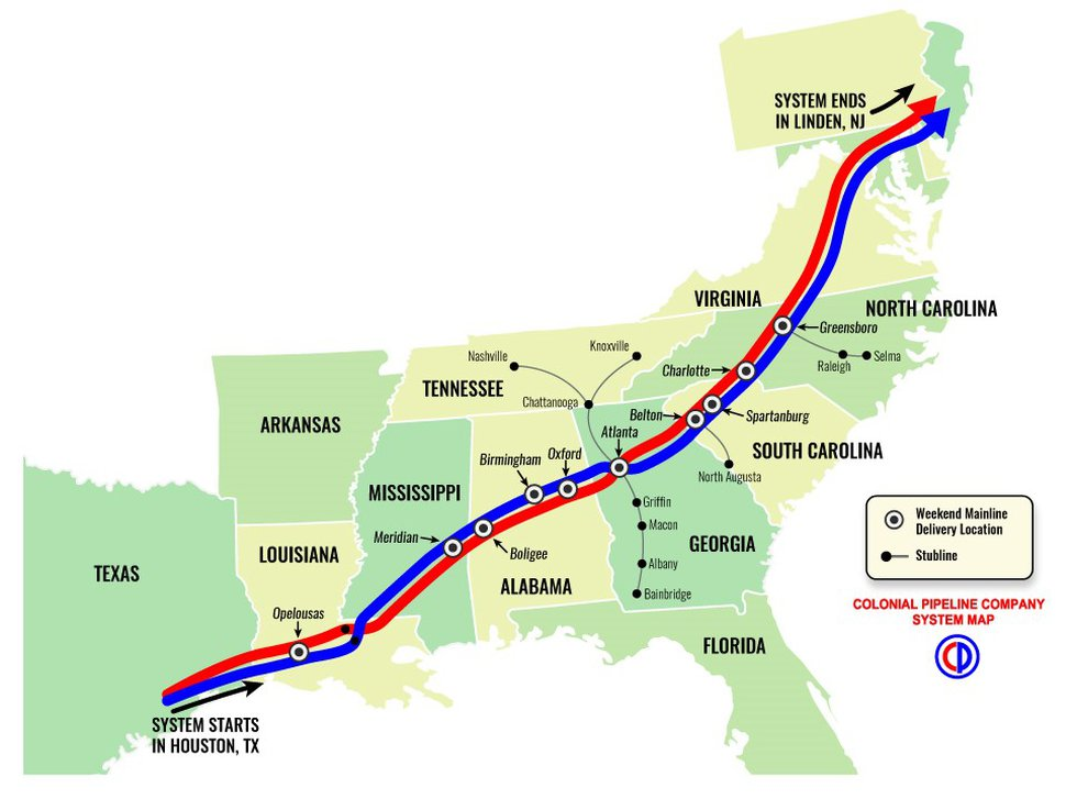 The Colonial Pipeline