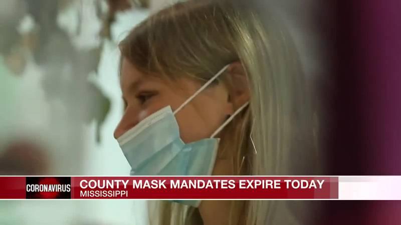County mask mandates expire Friday