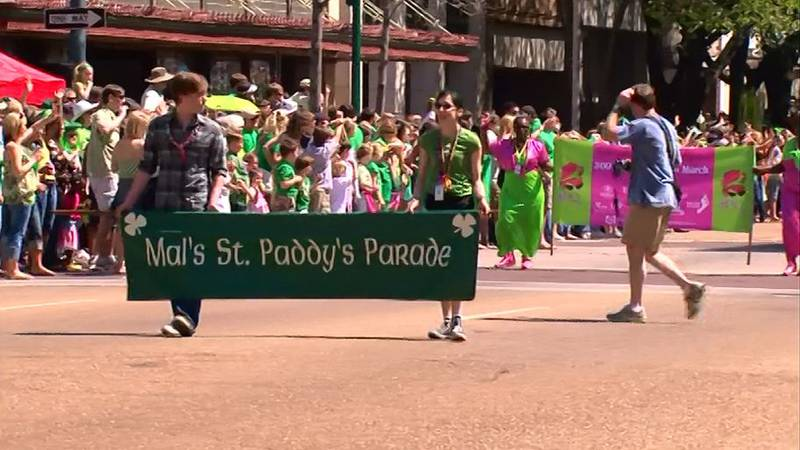 """Hal's St. Paddy's Parade, back when it was still called """"Mal's."""" Malcolm White changed the name..."""