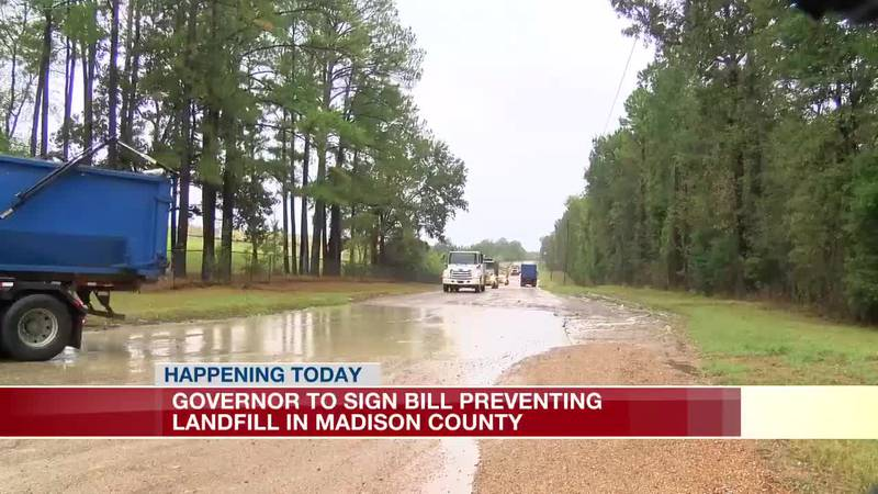 Reeves to sign bill giving voters final word on landfill debate in Madison Co.