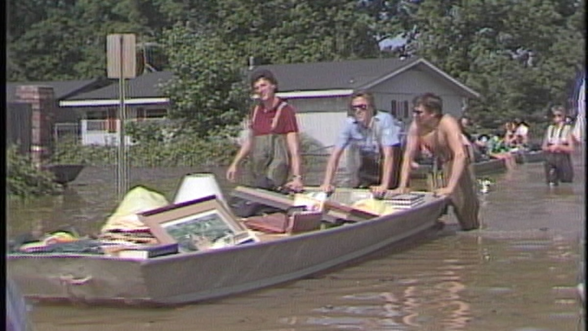 Looking back at flooding in 1983.