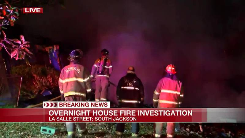 Home total loss after overnight blaze