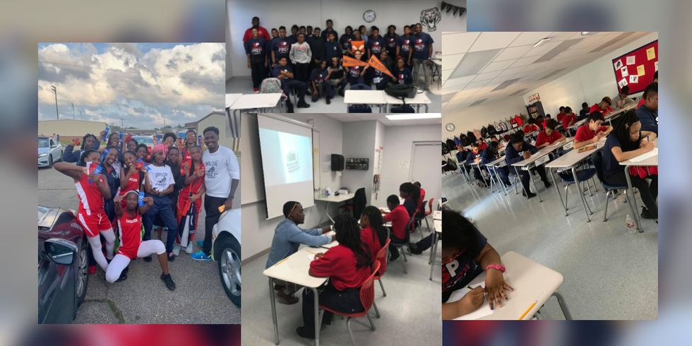 He's 29, Black and a principal in Jackson, leading kids in the area he grew up in