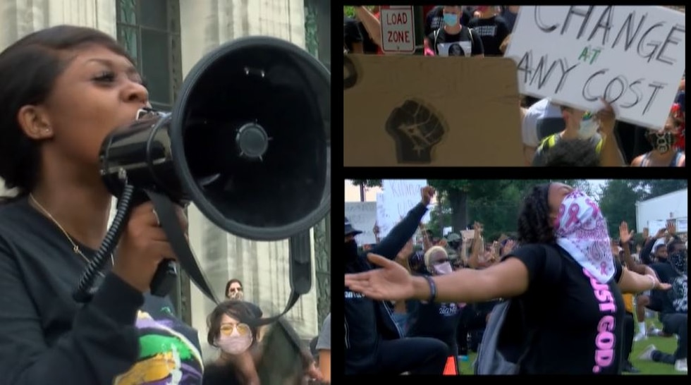 Protests were held in Baton Rouge, and across the nation, following the death of George Floyd.