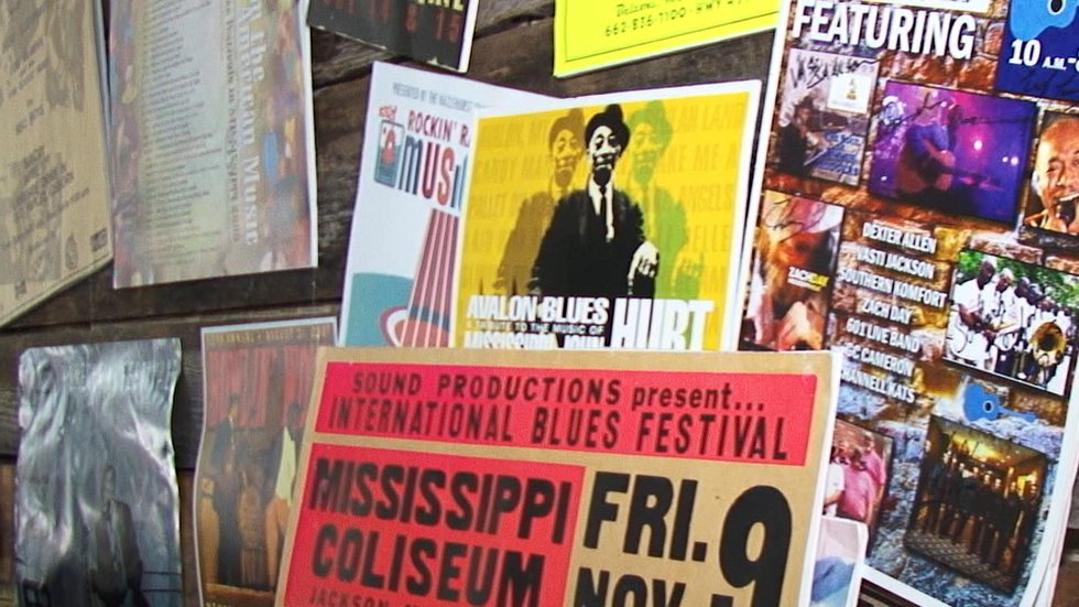 The story of Mississippi musicians is on display at the Mississippi Music Museum in Hazlehurst.