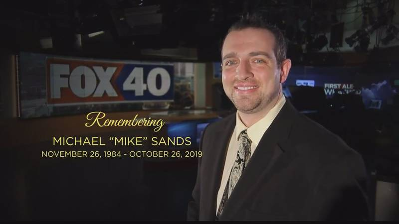 Funeral arrangements announced for Fox 40 anchor Mike Sands