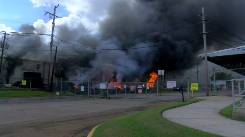 The fire at Harrison Manufacturing.