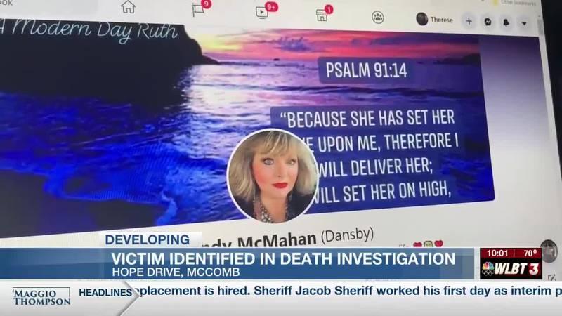 Woman found dead in McComb attorney's home
