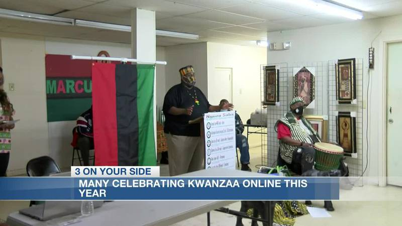 Many celebrating Kwanza online this year