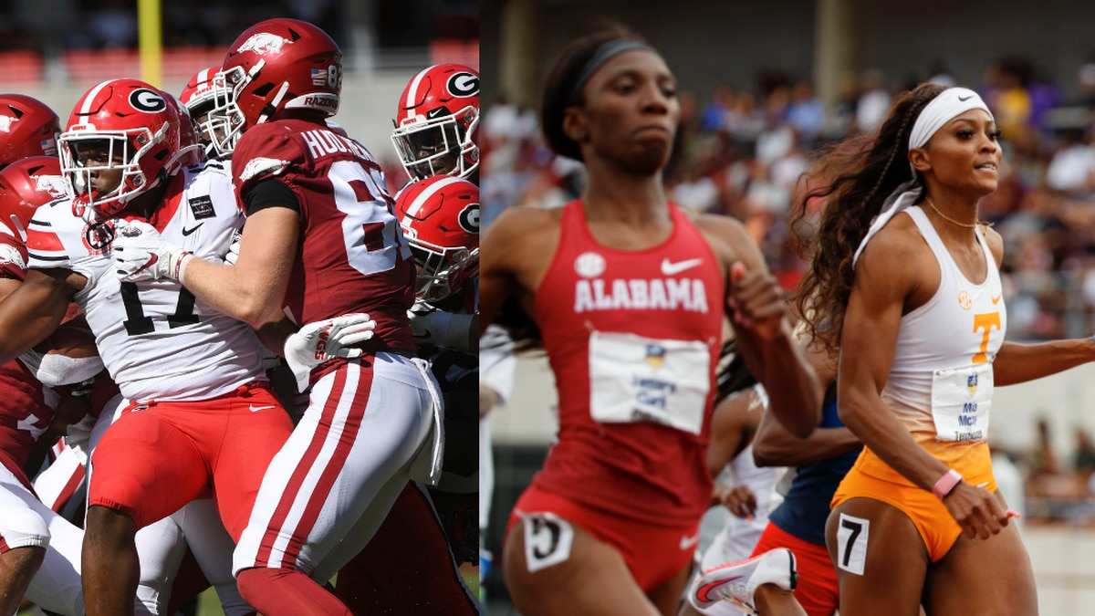 Nakobe Dean and Maia McCoy are both SEC athletes, who have found themselves in the highly...