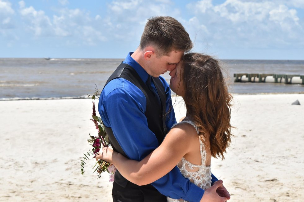 Daniel and Verity Germenis began their lives as man and wife on the Mississippi Gulf Coast,...