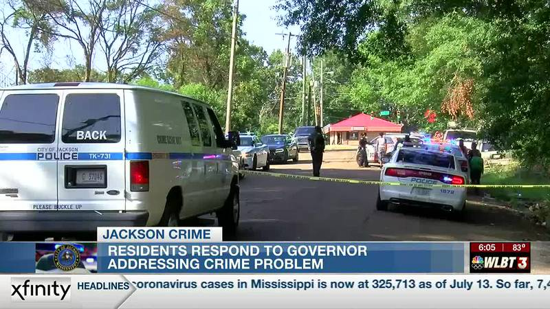 'They need some help here': Favorable reaction to Gov. Reeves' plan to address Capital City crime