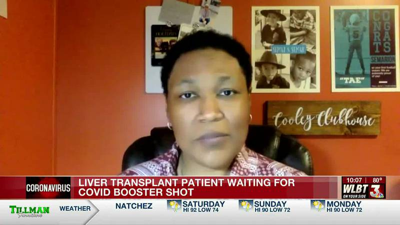 Mississippi liver transplant patient says she will definitely get third dose of vaccine