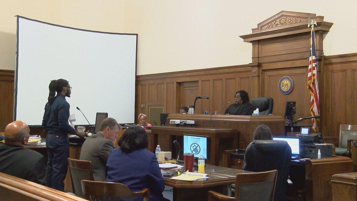 Zebulum James fires attorney, now defending himself in murder trial