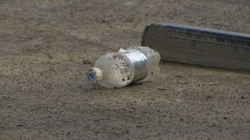 Louisville Water said there has been an increase it plastic bottles found in landfills and the...