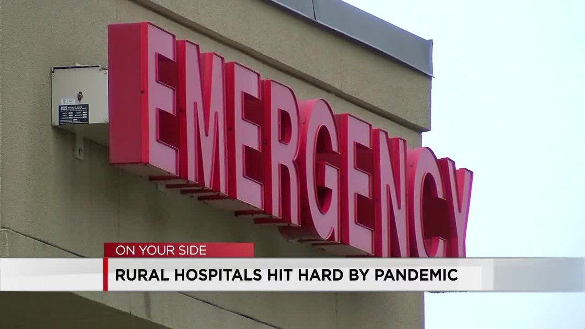 Rural hospitals hit hard by pandemic