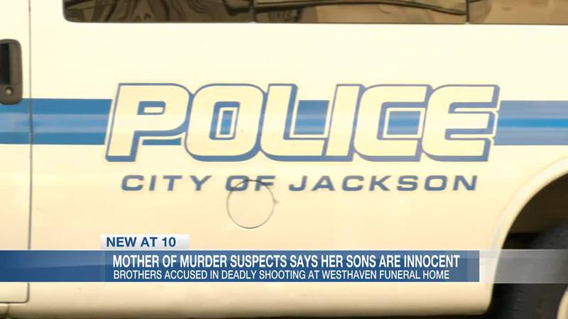 Mother of murder suspects says her sons are innocent