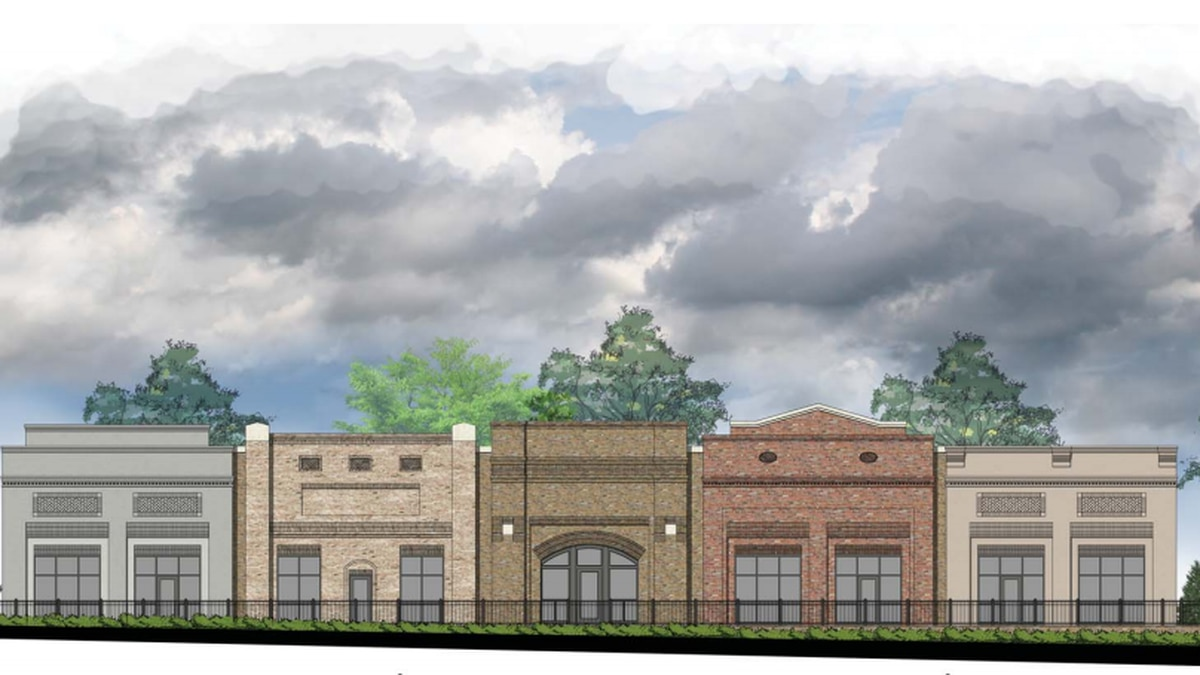 Patrick Roland is building a 9,000-square-foot office complex on Maple Street, one of many...