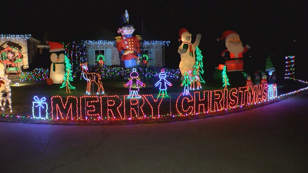 Christmas is around the corner and that means one local holiday tradition has started. It's not...