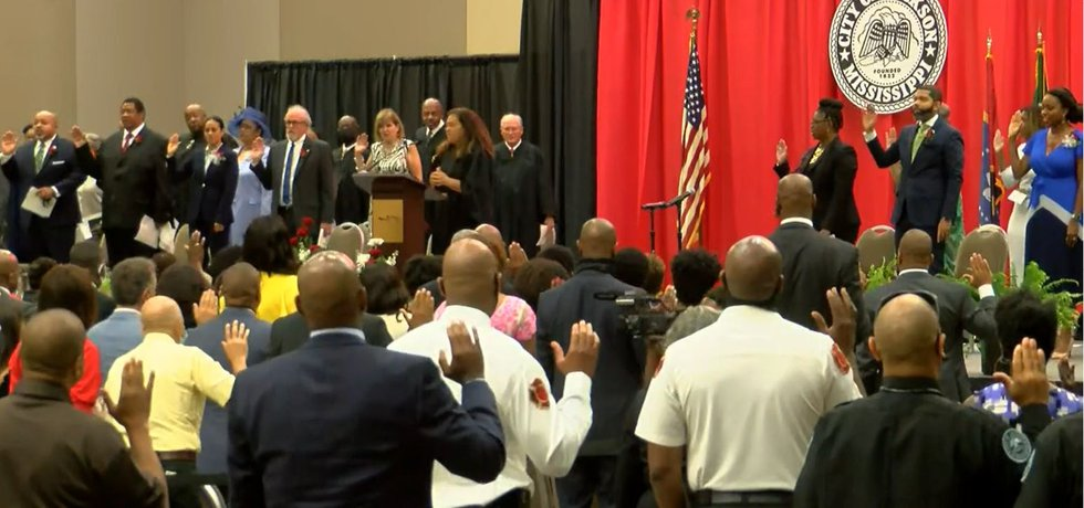 'It's critical that we create a dignity economy': Lumumba sworn in as mayor