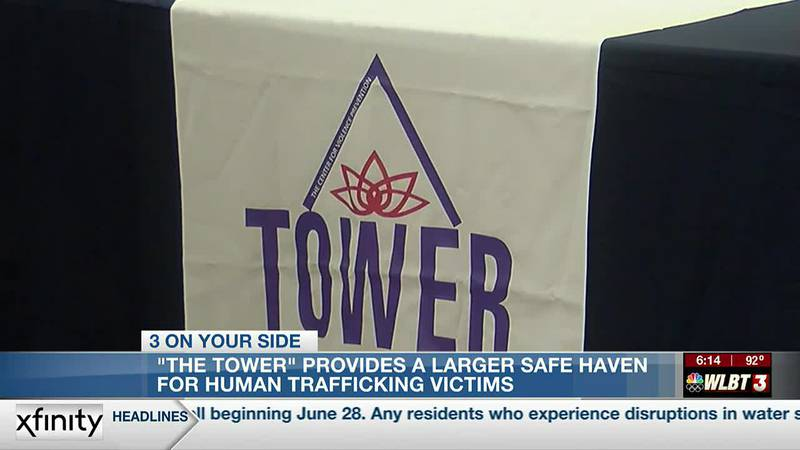 'The Tower' now provides a larger safe haven for human trafficking victim