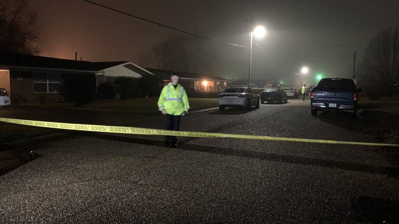 A man is dead after an officer-involved shooting following a hostage situation in Gulfport.