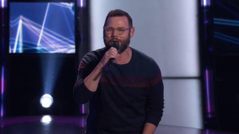 """Tilghman performs on """"The Voice"""""""
