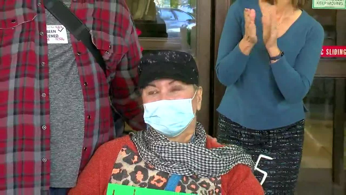 COVID-19 survivor discharged after 223 days at UAB