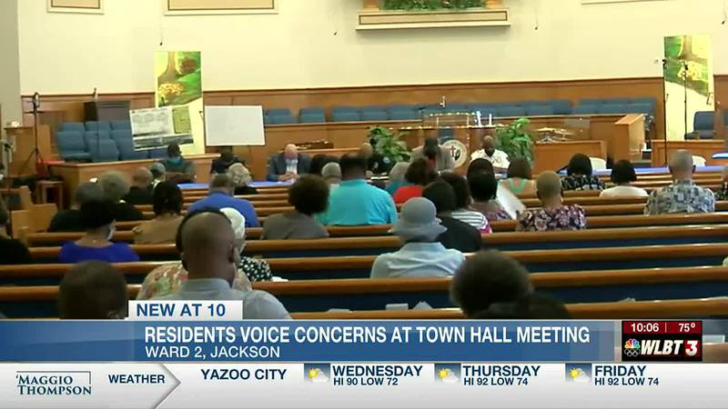 Large crowd shows up during Town Hall meeting to discuss ways to improve and make the Capital...