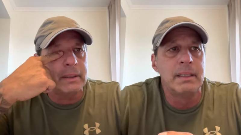 A Louisiana man posted an emotional video on Youtube thanking the people of Biloxi for stepping...