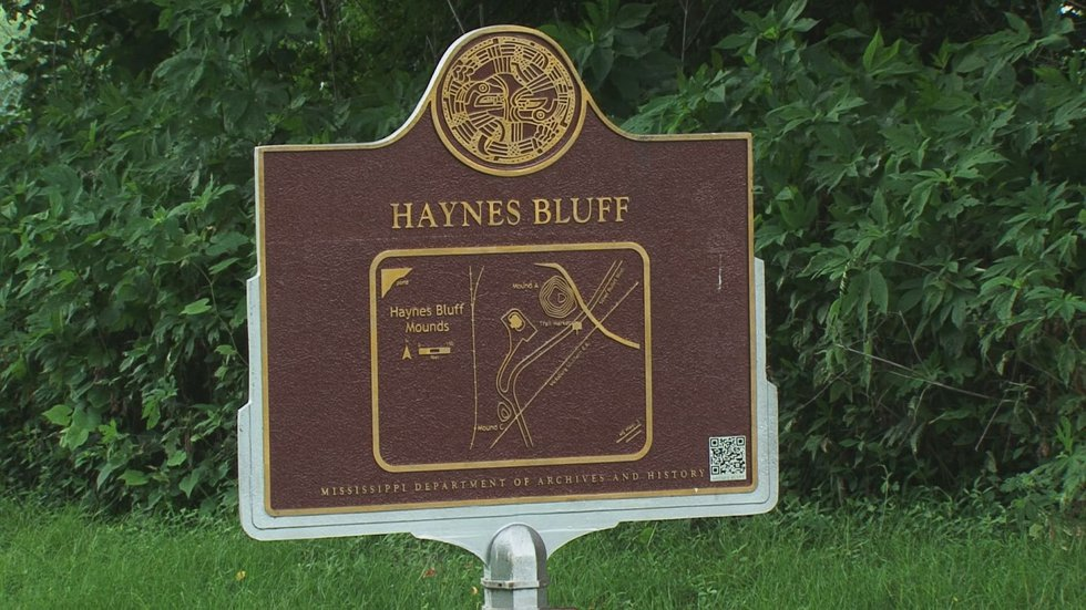 Just up Highway 3 from the site of Fort St. Pierre is the Haynes Bluff Mound. This Native...