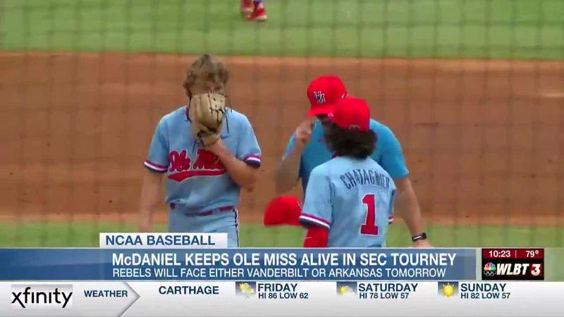 Ole Miss survives elimination day at SEC Tournament