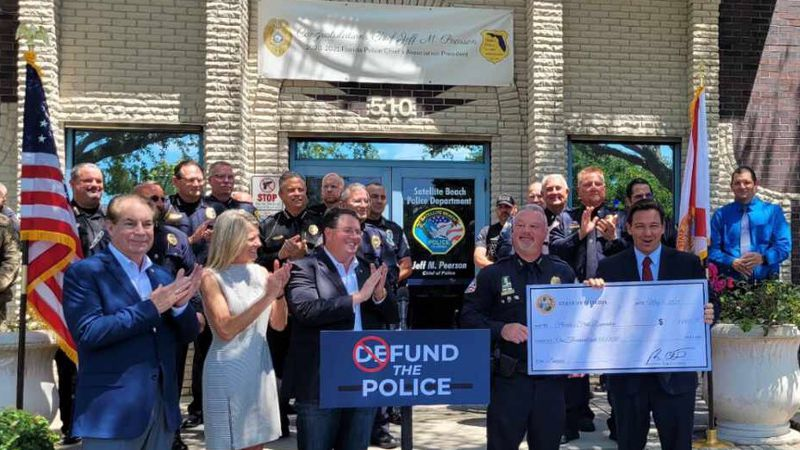 Fund the Police: Florida to give $1,000 bonuses to first responders