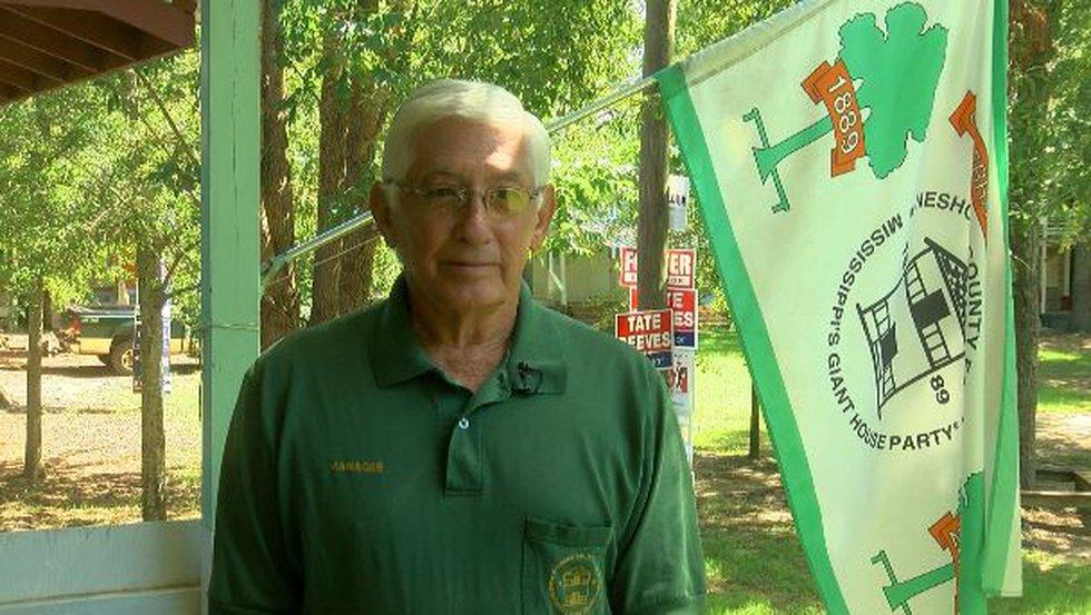 Doug Johnson, manager of the Neshoba County Fair (Source: WLBT)