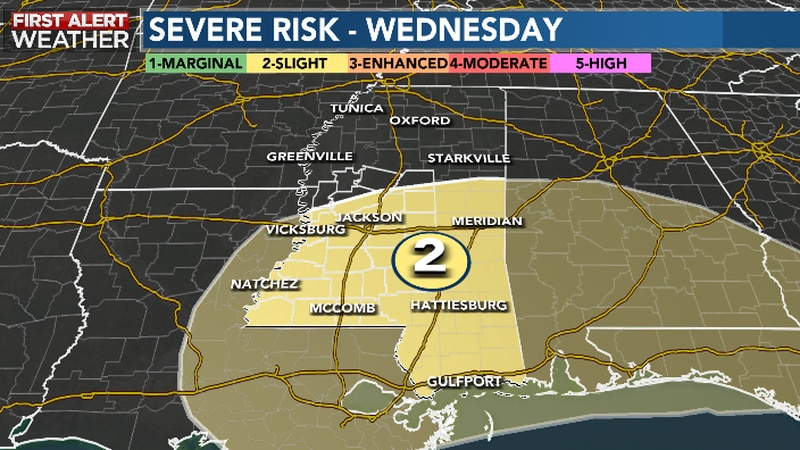 Severe weather possible this week