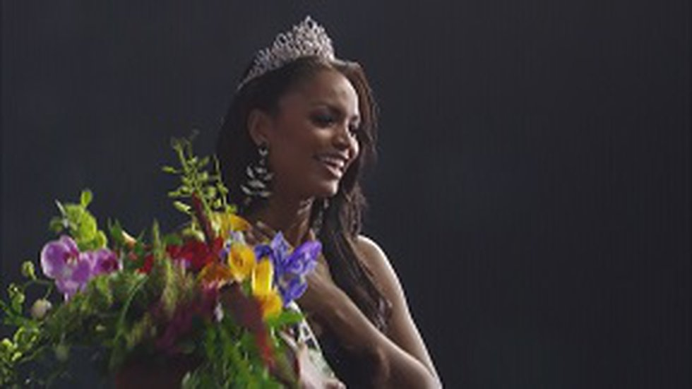 Branch has lived in New York since she was crowned Miss USA in November.