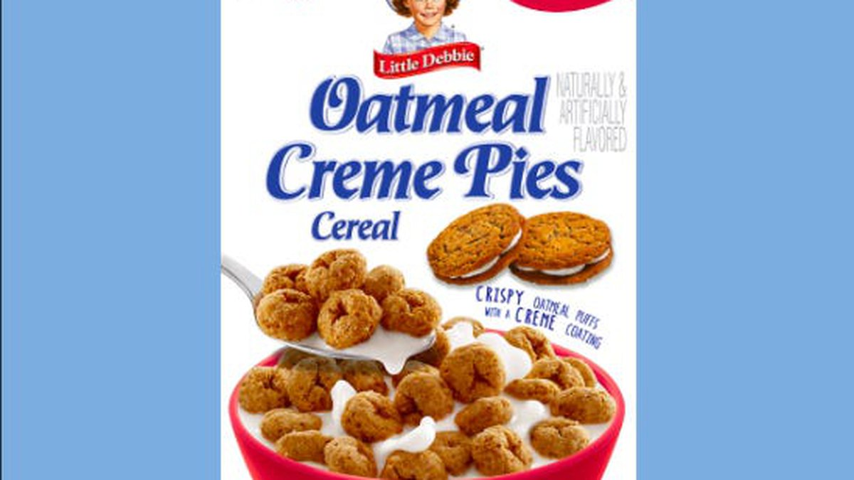 Who needed another excuse to eat dessert for breakfast? The iconic Little Debbie Oatmeal Creme...