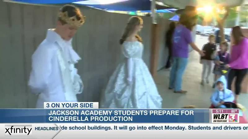 Jackson Academy students bring 'Cinderella' to life
