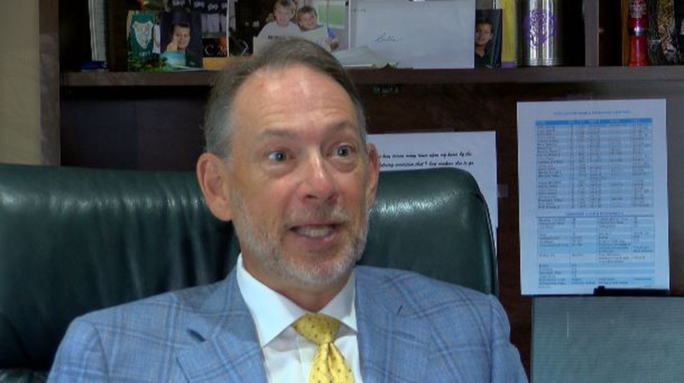 Mayor Walter Morrison