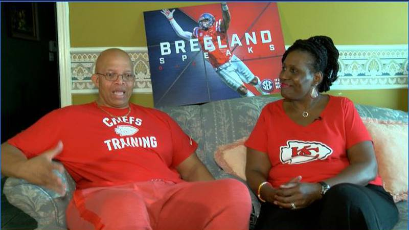 Breeland Speaks' parents speak out on raising a star athlete. (SOURCE: WLBT)