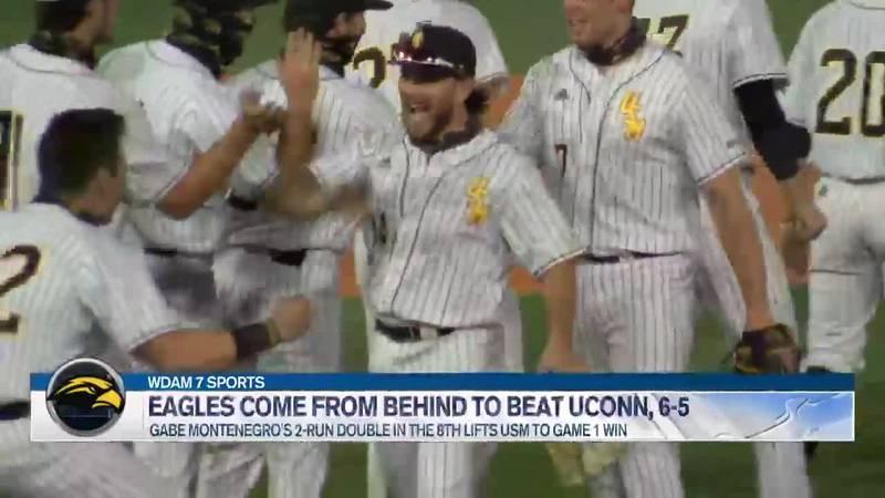 USM beats UCONN 6-5 on Friday.