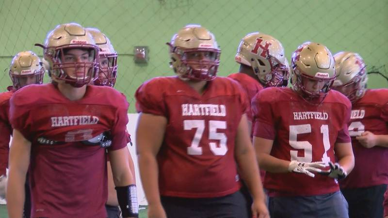 This high school football season we saw an underdog team rise to the occasion.  Hartfield...