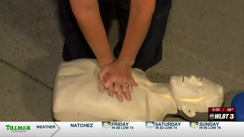 'Double the chances of survival,' using the Hands-only CPR technique, limiting COVID-19 exposure