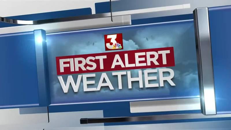 First Alert Forecast: hot, steamy late week ahead of drier air next week