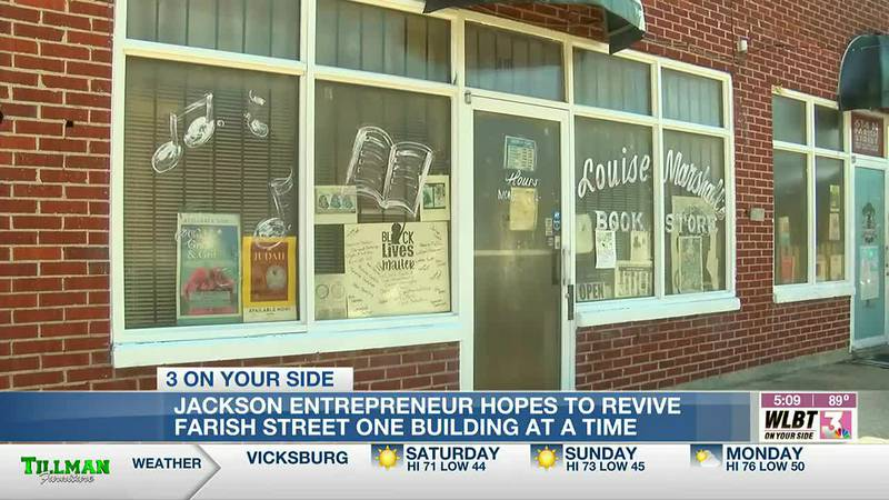 Local entrepreneurs plan to revitalize Farish Street themselves one building at a time