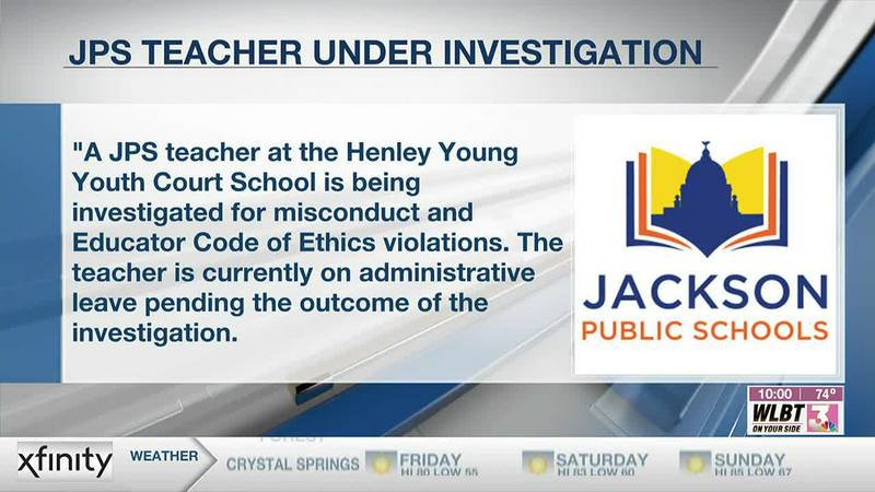 JPS teacher at Henley Young Youth Court School is under investigation