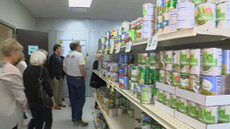 Work began about ten years ago to set up a new food pantry for Stewpot Community Services.