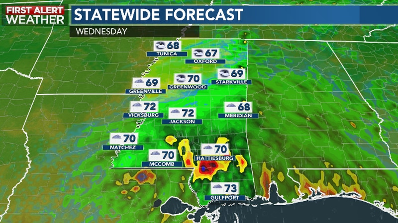 Rainy Periods From Nicholas' Rain Bands May Bring Localized Flooding Late Tuesday into Early...