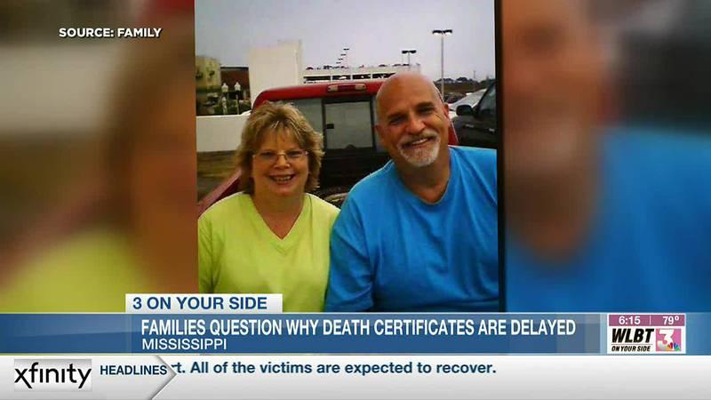 Families experiencing delays in receiving death certificates