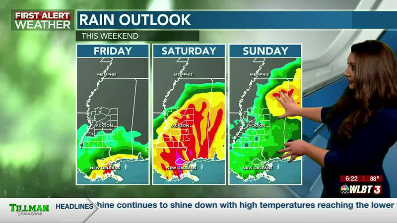 Tropical impacts remain possible this weekend...